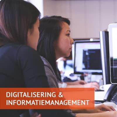 Digitalisering & Informatiemanagement: werken aan een slimmere overheid