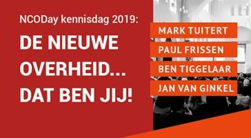 NCODay Kennisdag, NCOD, Interwerk, kennisdag, inspiratie, Mark Tuitert, Paul Frissen, Ben Tiggelaar, Jan van Ginkel