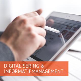 Digitalisering & Informatiemanagement - Iedere dag werken aan betere informatievoorziening voor een slimmere overheid